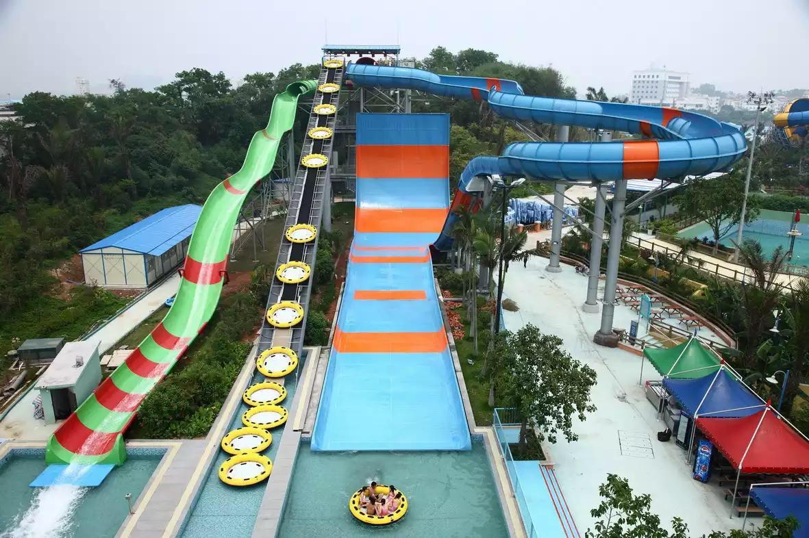 水上大型游乐设施有哪些好玩的