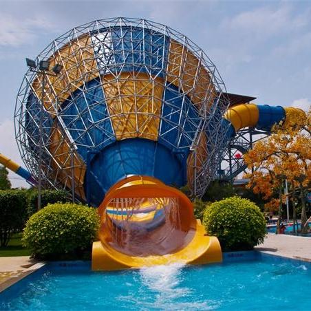 水上乐园大喇叭滑梯特点